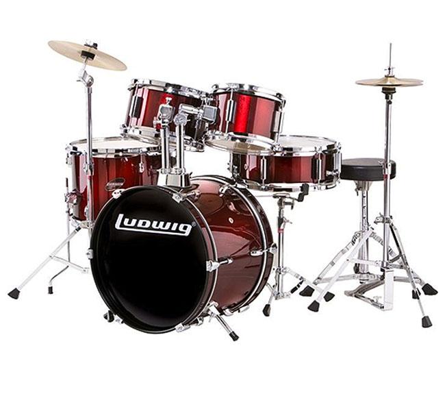 Bateria Acústica LR-1525 Crimson Red – Ludwig