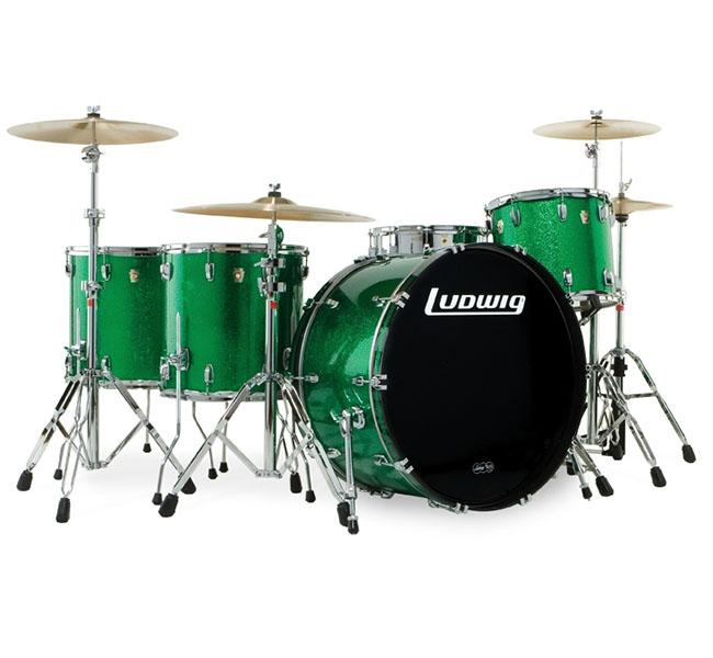 Bateria Acústica USA Green – Ludwig