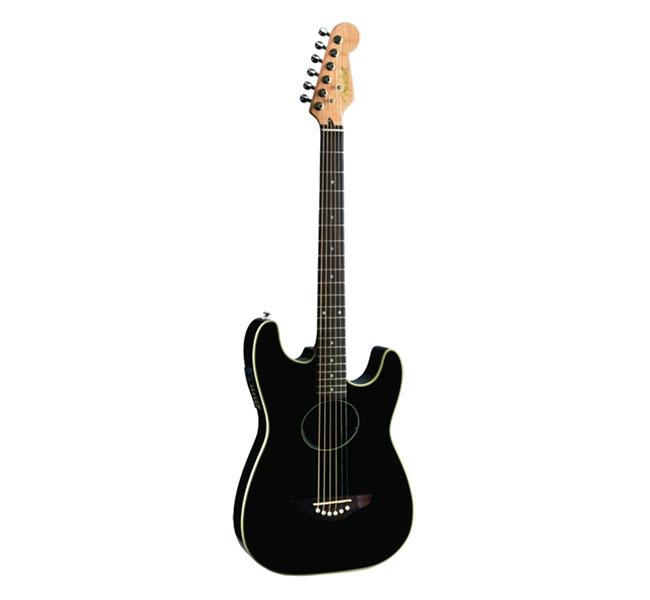 Guitarra Acústica Stratacoustic BK – Fender
