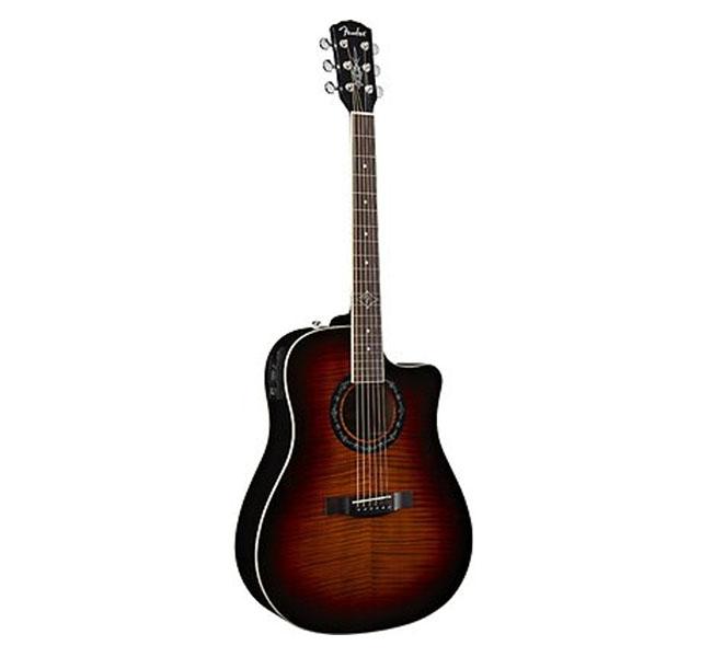 Guitarra Acústica T-Bucket 300CE FLM MPL – Fender