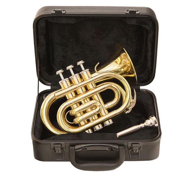 Trompete JBMT 500L Pocket – Jinbao