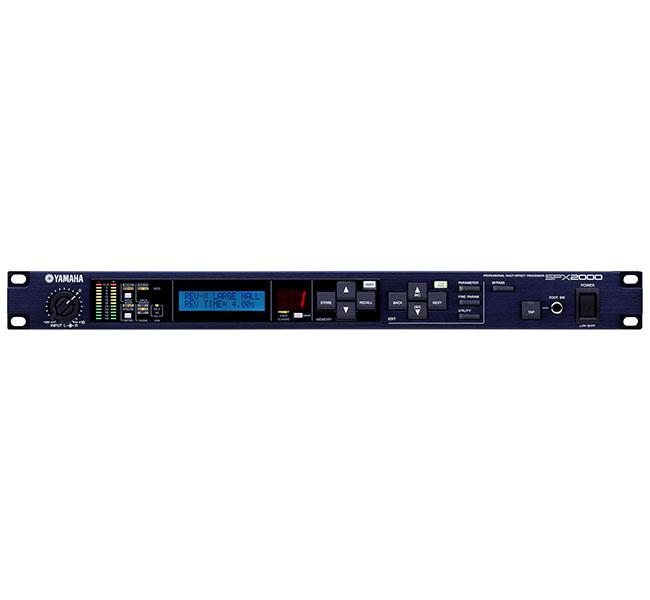 Processador de efeitos SPX2000 – Yamaha