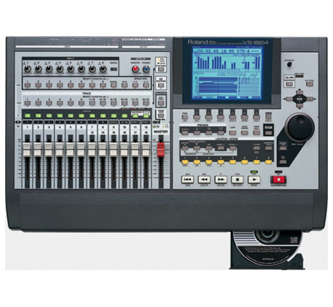 ROLAND VS-1824CD – Workstation digital